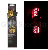 LED PARTY SUSPENDERS - WITH LEOPARD PATTERN