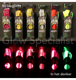 LED PARTY SUSPENDERS - NEON GREEN