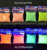 UV/BLACKLIGHT DECORATIE ZAND