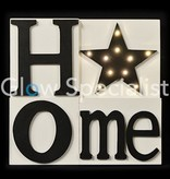 Led Wall decoration - HOME