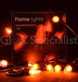 VLAMVERLICHTING - 10 LAMPJES