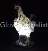 Solar mosaic lamp Rooster