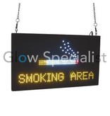 - Eurolite Eurolite LED Sign - SMOKING AREA