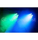 BeamZ BEAMZ BFP110 FLATPAR 5X 6W 3-IN-1 + 1X 6W UV LED'S