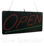 - Eurolite LED SIGN EUROLITE - OPEN - GROOT - MET AFSTANDBEDIENING