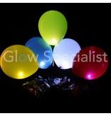 LED BALLONNEN - LIGHT UP BALLOONS - 5 STUKS