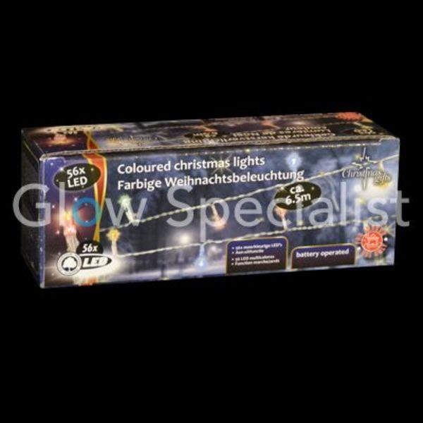 LED Christmas lights MULTICOLOR - 56 LIGHTS