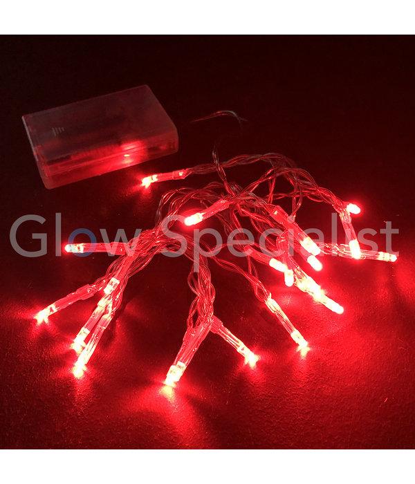 LED LIGHTS - 20 LIGHTS - RED