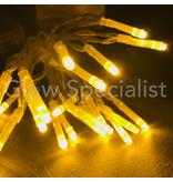 LED LIGHTS - 20 LIGHTS - YELLOW