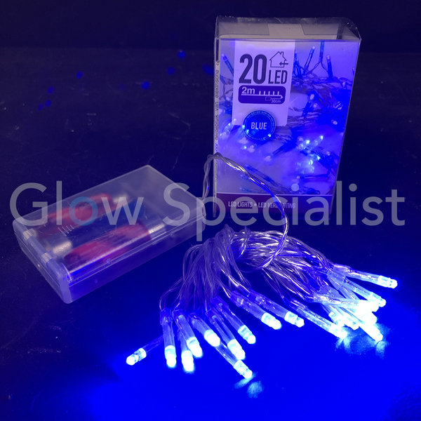 LED LIGHTS - 20 LAMPJES - BLAUW