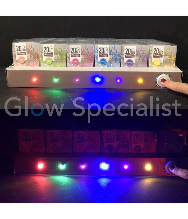 LED LIGHTS - 20 LAMPJES - GEEL