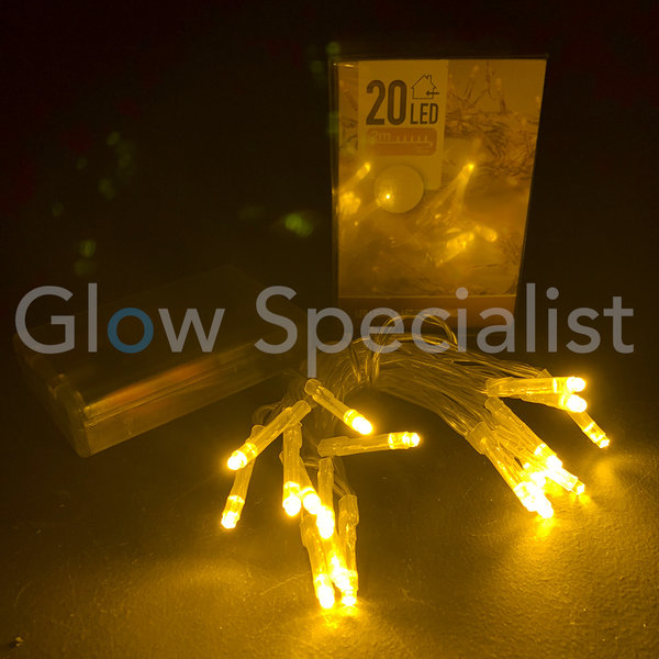 LED LIGHTS - 20 LIGHTS - YELLOW