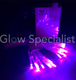 LED LIGHTS - 20 LIGHTS - PURPLE