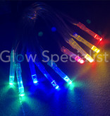 LED LIGHTS - 10 LIGHTS - MULTICOLOR