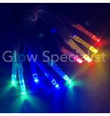 LED LIGHTS - 10 LIGHTS - MULTICOLOR
