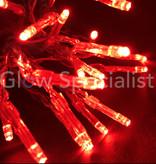 LED LIGHTS - 20 LAMPJES - ROOD