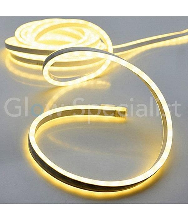 LED SLANGVERLICHTING - 120 LED - 1 METER - WARM WIT - MET TIMER
