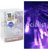 LED LIGHTS - 10 LIGHTS - PURPLE
