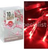 LED LIGHTS - 10 LAMPJES - ROOD
