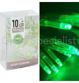 LED LIGHTS - 10 LIGHTS - GREEN