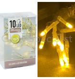 LED LIGHTS - 10 LIGHTS - YELLOW