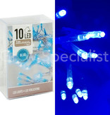 LED LIGHTS - 10 LIGHTS - BLUE
