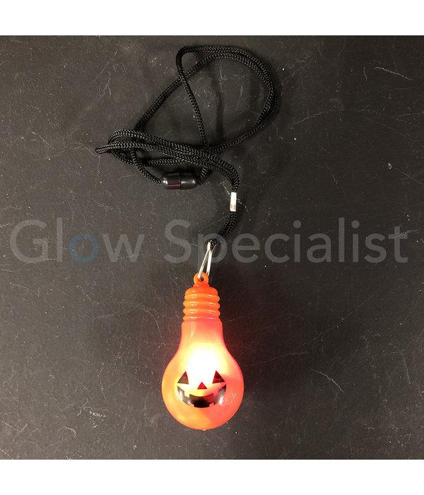 HALLOWEEN FLASHING LED NECKLACE