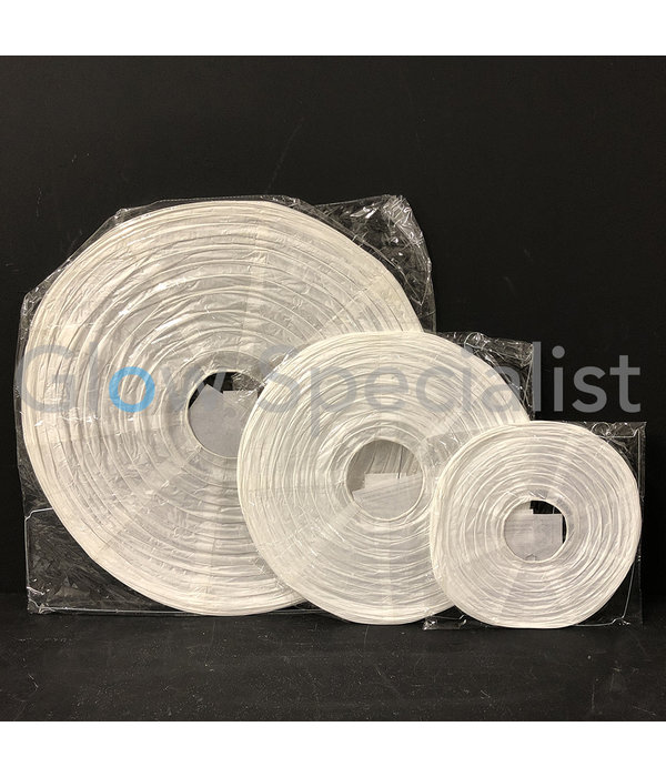 WHITE PAPER LAMPION - PER PIECE FROM