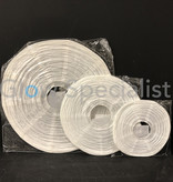 WHITE PAPER LANTERNS - 3 SIZES - SET OF 10