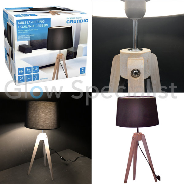 GRUNDIG TABLE LAMP TRIPOD 64x29CM