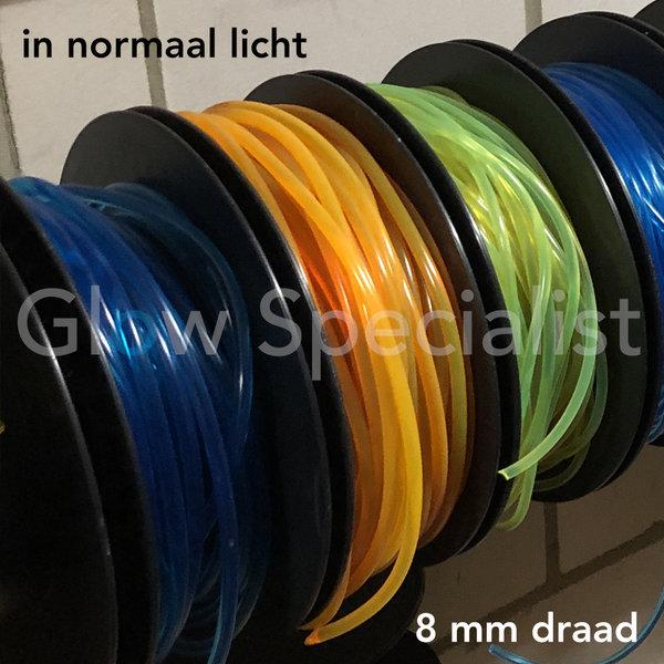 UV / BLACKLIGHT NEON DRAAD PVC - 8 MM