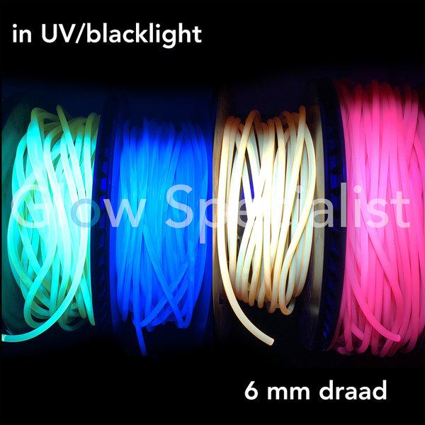 UV / BLACKLIGHT NEON CORD PVC - 6 MM