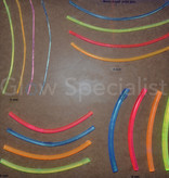 UV / BLACKLIGHT NEON DRAAD PVC - 8 MM