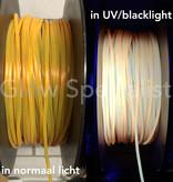 UV / BLACKLIGHT NEON DRAAD PVC - 4 MM