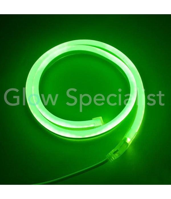 LED SLANGVERLICHTING - 120 LED - 1 METER -  GROEN - MET TIMER