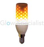 Firelamp FIRELAMP™ 3W - 300 LUMEN - E14 - 64 SMD - 1800K - OPAL
