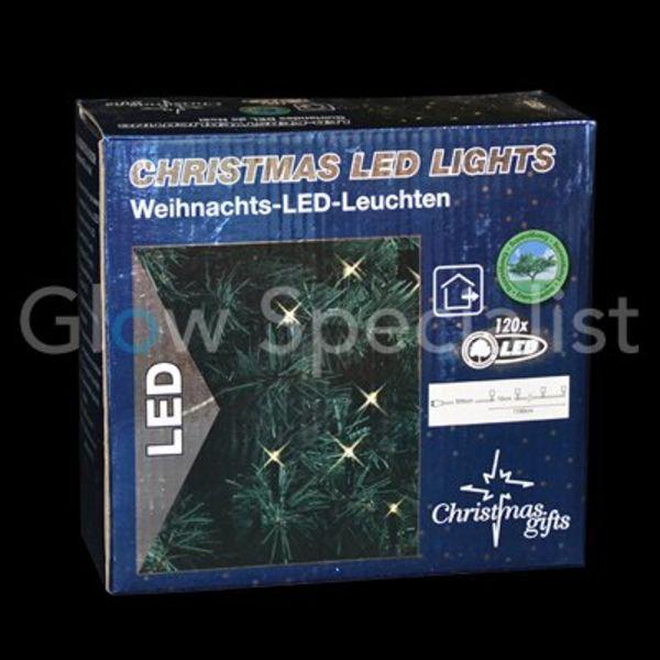 LED Christmas lights WHITE - 120 LIGHTS
