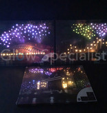 CANVAS PAINTING - LONDON TOWER BRIDGE - COLOR CHANGING LED - 50X40CM