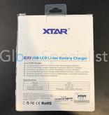 XTAR VC2 USB LI-ION BATTERY CHARGER - 1 X 18650 BATTERY