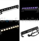 BeamZ BUVW83 BAR 8X 3W UV/WHITE 2IN1 LED