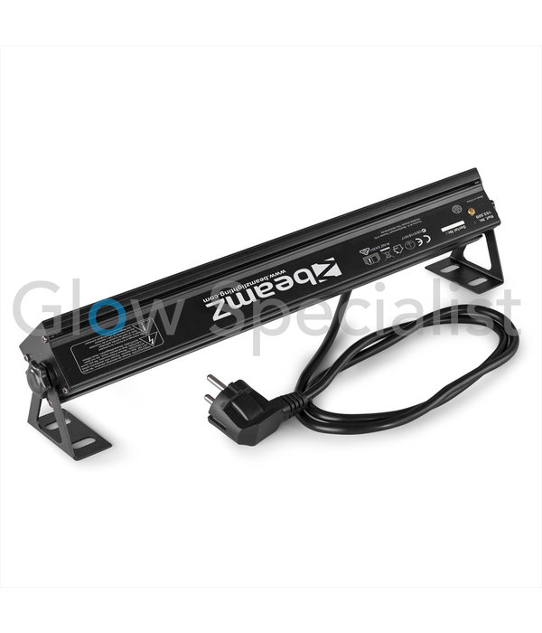 BeamZ BUVW83 BAR 8X 3W UV/WIT 2IN1 LED