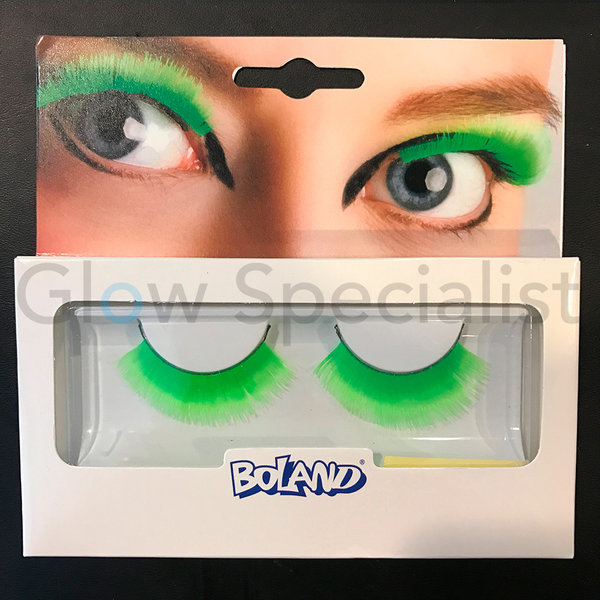 UV / NEON BLACKLIGHT EYELASHES - GREEN
