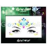 - PaintGlow PAINTGLOW GLOW IN THE DARK UV REACTIVE FACE JEWELS - STER