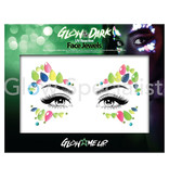 - PaintGlow PAINTGLOW GLOW IN THE DARK UV REACTIVE FACE JEWELS - CATEYE