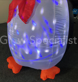 INFLATABLE CHRISTMAS PENGUIN WITH LED - 210 CM
