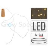 FLESSENSTOP MET 8 LED - WARM WIT