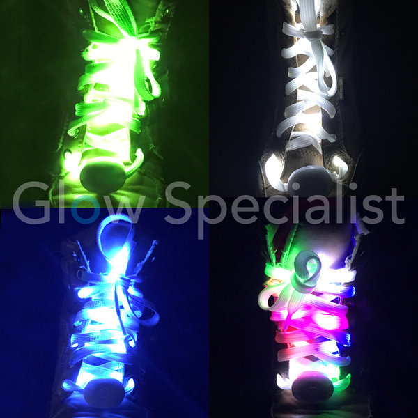 LED SHOELACES - 120 CM