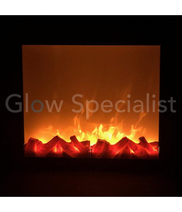 LED OPENHAARD  - 41 x 35 CM
