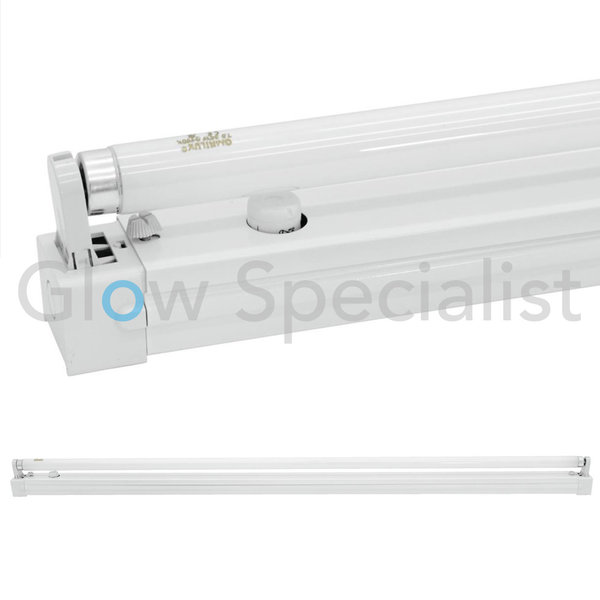 EUROLITE METAL FIXTURE WITH 120 CM 36-40W NEON TUBE WHITE