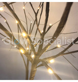WINTER TREE WITH 104 LED - WARM WHITE - 180 CM